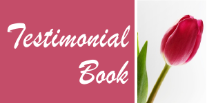Splending Ceremonies Testimonials Book
